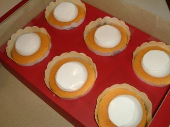 お取り寄せ(楽天) アリスのカップチーズケーキ6ヶ入 価格2,600円 (税込)